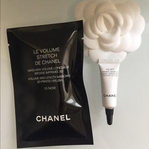 CHANEL Le Volume mascara Le Lift Eye Cream bundle